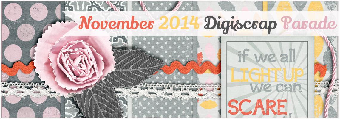 November 2014 digiscrap parade