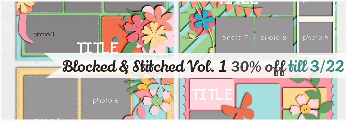 Blocked & Stitched Templates Vol.1