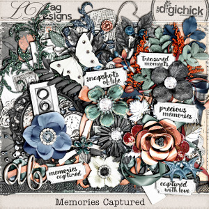 Memories Captured Collection and a freebie!