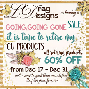 New, CU Products Going Gone Sale – a CT Call- Winners!