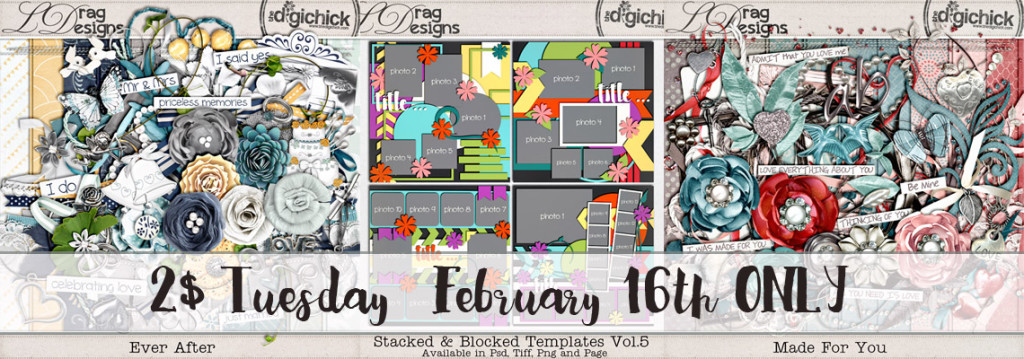 2$ Tuesday February 16th ONLY and a coupon- freebie!!!!