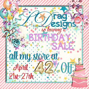 Make A Wish, A Birthday Sale and a freebie!