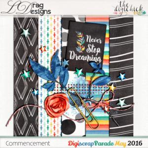 The May 2016 Digiscraparade