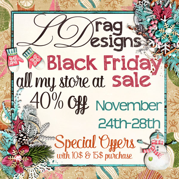 Black Friday Sales and Free kits with Purchase!!!!!