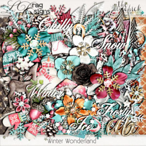 Winter Wonderland Collection and add on freebie!