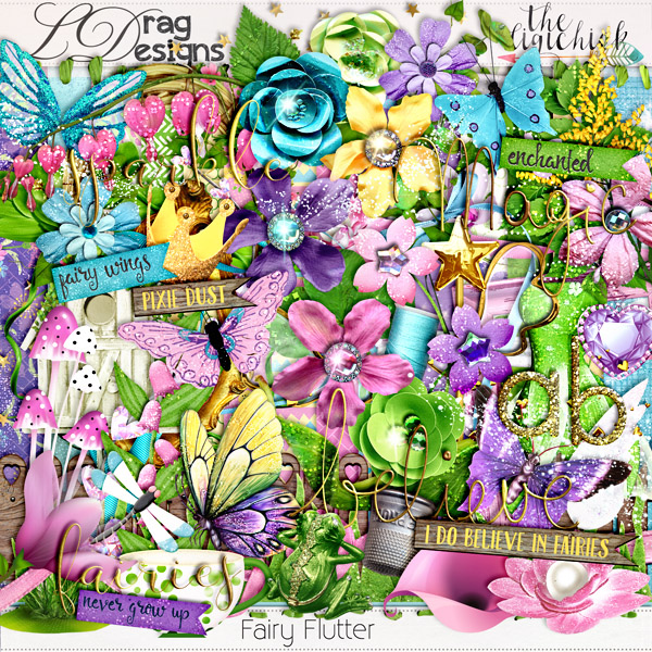 Fairy Flutter Collection and a freebie!!!
