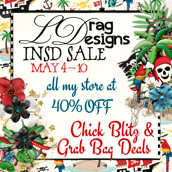 iNSD Sales, a Grab Bag, Chick Blitz and a freebie!
