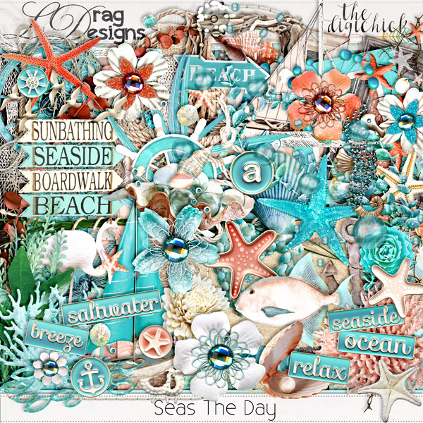 Seas The Day Collection and a freebie!