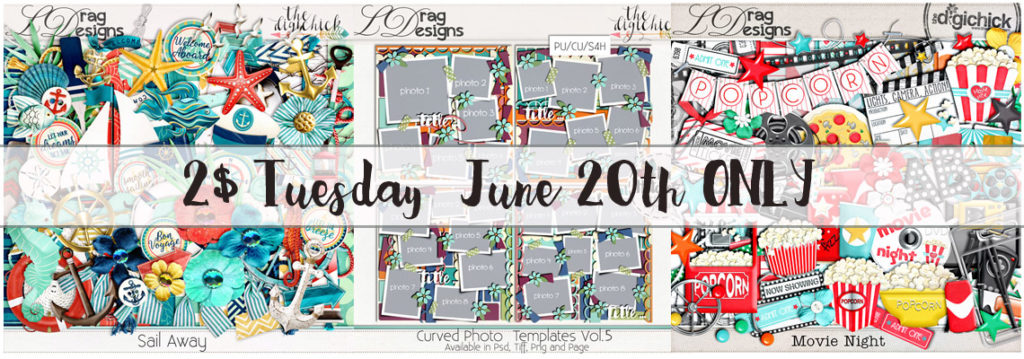 2$ Tuesday June 20th ONLY & a Sneak Peak!