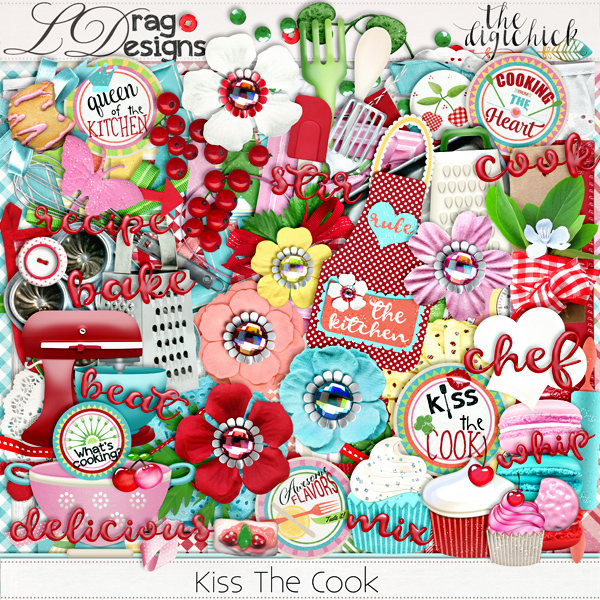 Kiss The Cook Collection & a freebie!