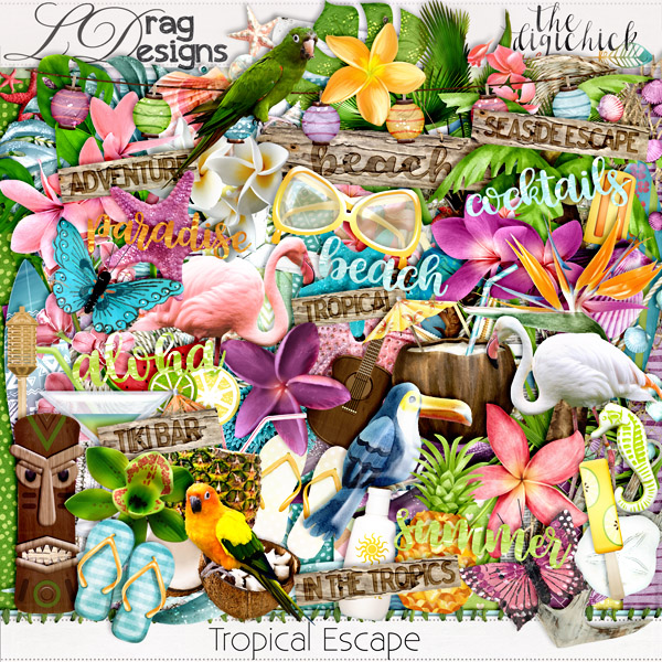 Tropical Escape and freebie add on