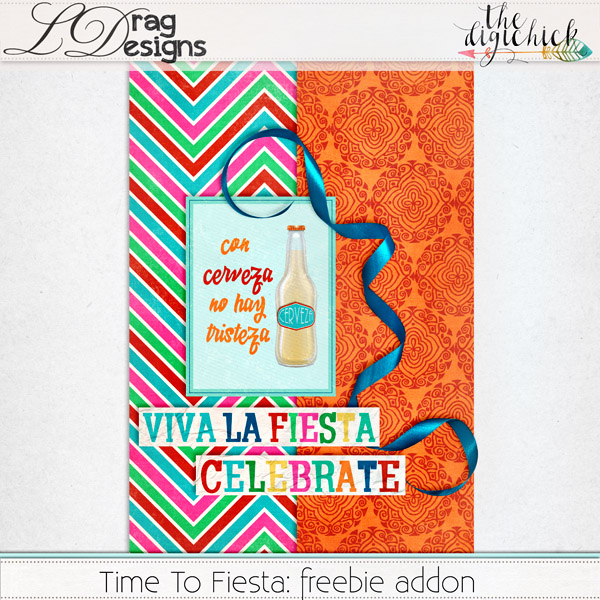 Time to fiesta A new release from LDrag Designs