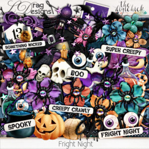 Fright Night Collection (Grab bag reveal) and freebie addon!