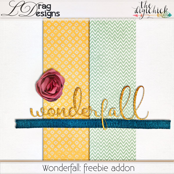 WonderFall Collection and freebie!